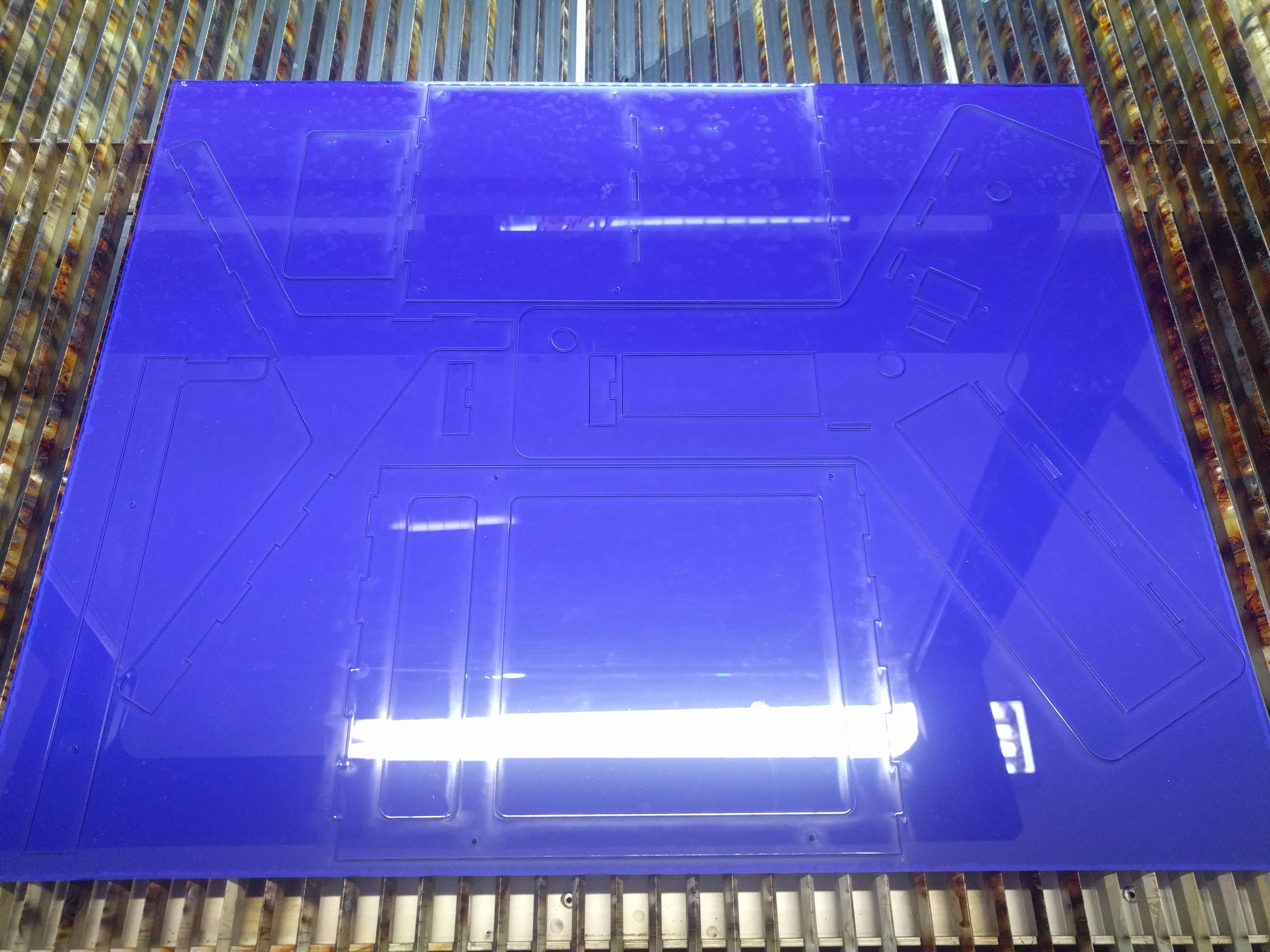 Laser-cut Acrylic